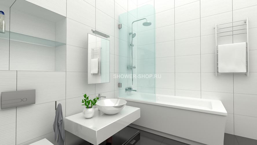 Фурнитура для стеклянного ограждения на ванну №701